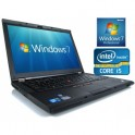 "Portable Lenovo Thinkpad T520 Intel Core I5-2520m - 2.5Ghz - 4Go DDR3 - 15.6"" - 320GO - DVDRW - Webcam - HDMI - Win 7 Pro"