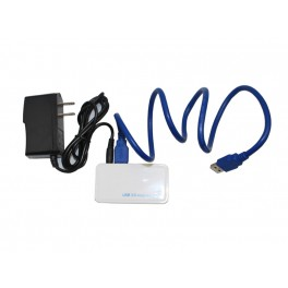 USB 3.0 4 Port (with Power Adapter)