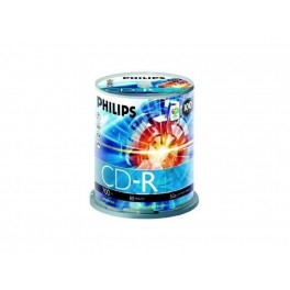 Philips 52x CD-R, 100 pcs/pk