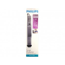 Philips 8-Outlet Surge Bar 2,160 Joules 4ft Cord - SPP4081A/17