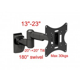 29-4 LCD 503 Wall Mount for 13inch-23inchTV/-20°-+20° up and down tilt,180° swivel/max 30kgs/100-470mm.