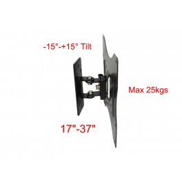 29-4 SM1053 Wall Mount for 17inch-37inchTV/tilt -15°-+15°/max weight 25kgs.
