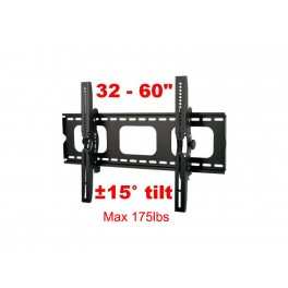 64-110B for 32inch-60inchTV/Max 175lbs/21.1W x 20.9 H x(4.5-20.3)D