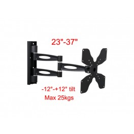 TygerClaw Wall Mount LCD5003 for 23inch-37inchTV/-12°-+12° up and down tilt/Max 25kgs.