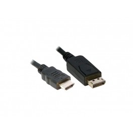 Display port to HDMI 6ft cable