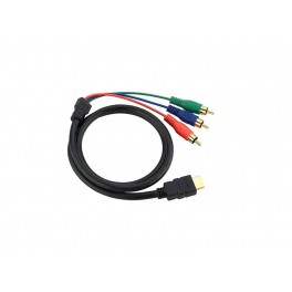 06Ft Speedex Hdmi to 3 Rca Cable