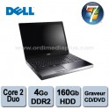 "Portable Dell Precision M6400 Core 2 Duo - 2.4Ghz - 8Go DDR3 - 500GO - Graveur DVD/CD - 17"" - Win 7 Pro"