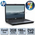 Portable HP 8510p Core 2 Duo 2.5Ghz - Mem 4Go - 160Go - DVDRW - 15.4'' TFT - Windows 7 Familial - NOTEBOOK