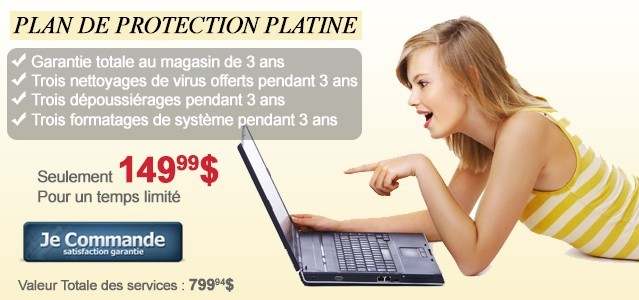 Plan de protection Platine
