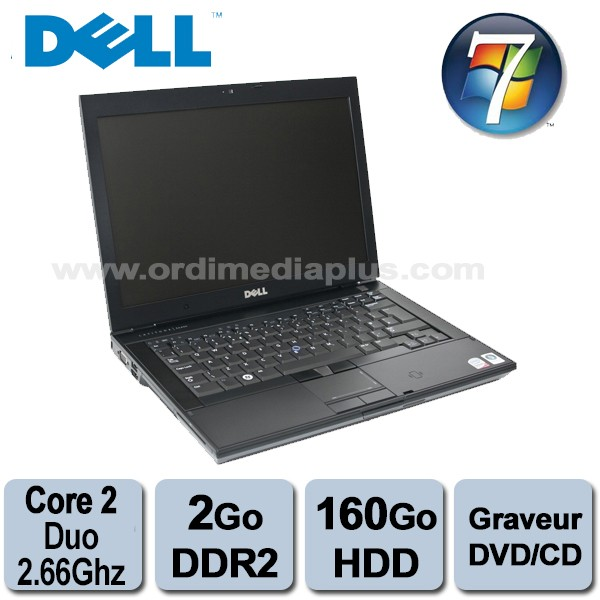 Portable Dell Latitude E6400 Intel C2D - 2 53Ghz - 2Go DDR2